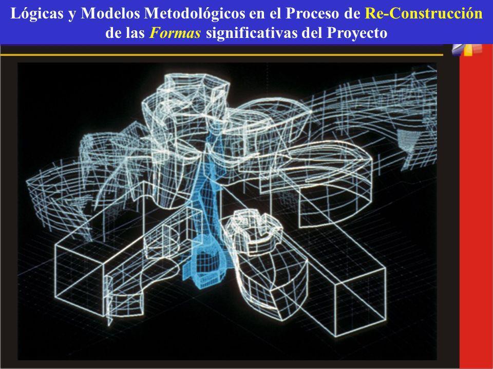 Lógicas y Modelos Metodológicos en el Proceso de Re-Construcción de las Formas significativas del Proyecto