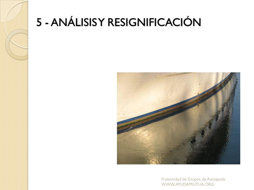 5 - ANÁLISIS Y RESIGNIFICACIÓN