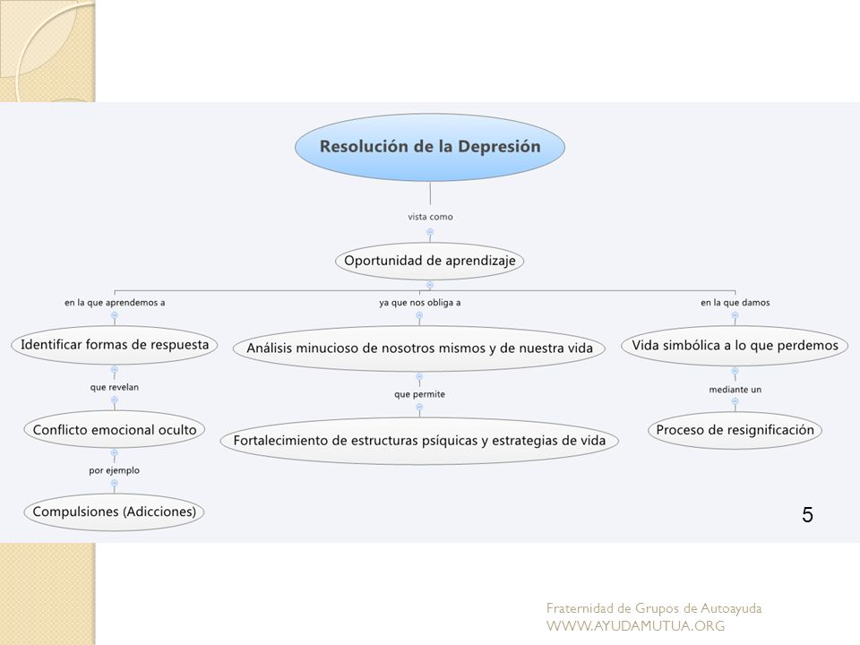 5 Fraternidad de Grupos de Autoayuda WWW.AYUDAMUTUA.ORG