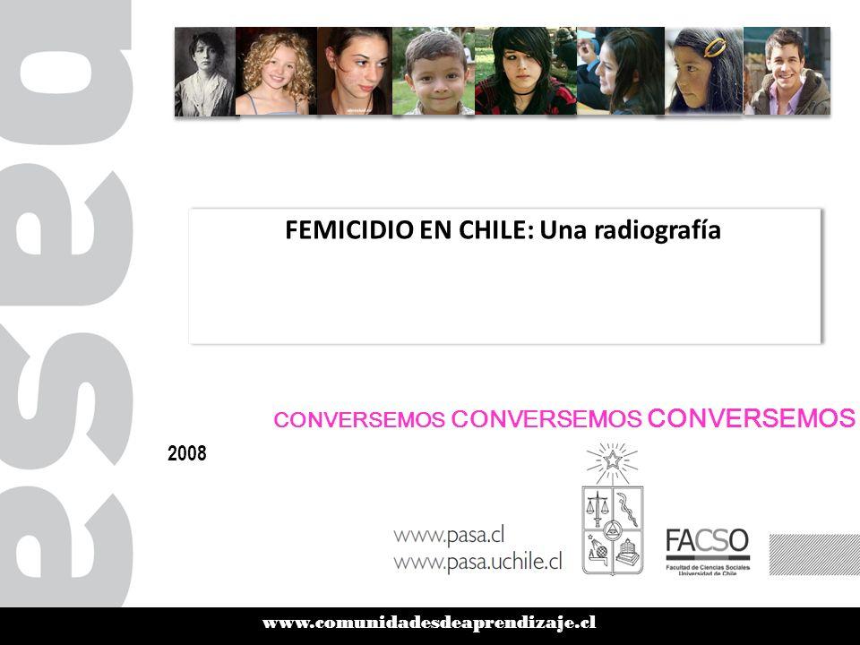 FEMICIDIO EN CHILE: Una radiografía