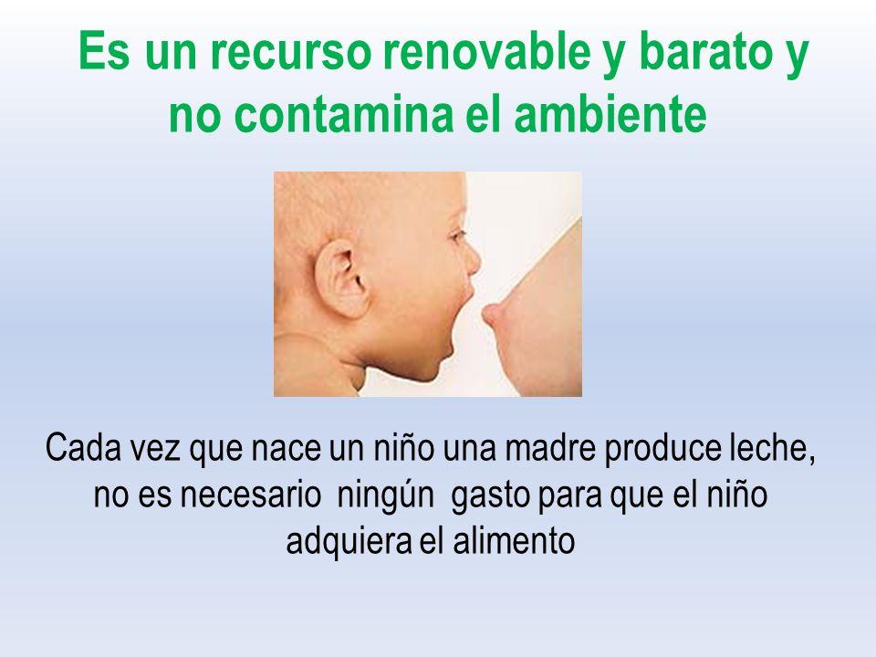 Es un recurso renovable y barato y no contamina el ambiente