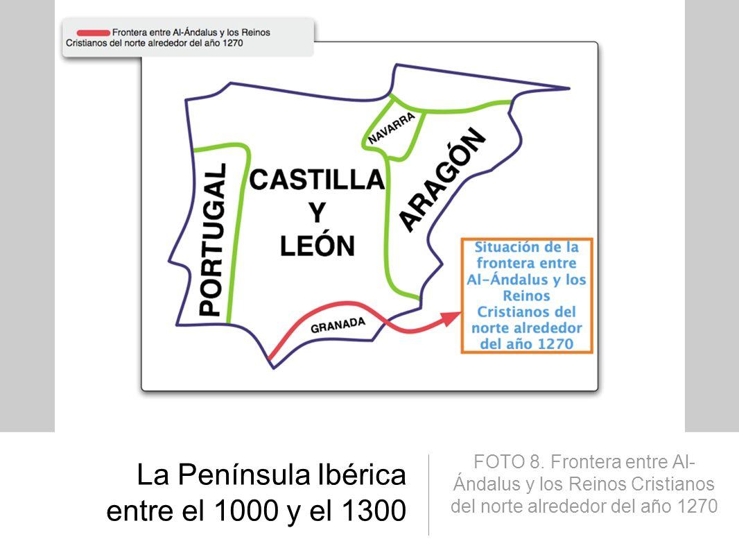 La Península Ibérica entre el 1000 y el 1300
