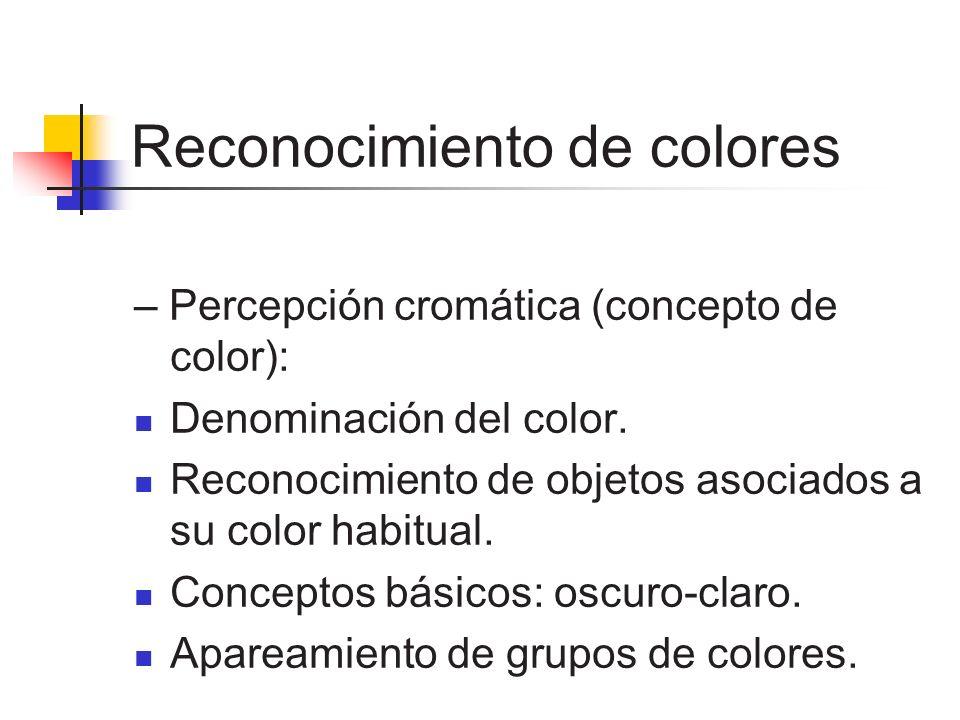 Reconocimiento de colores