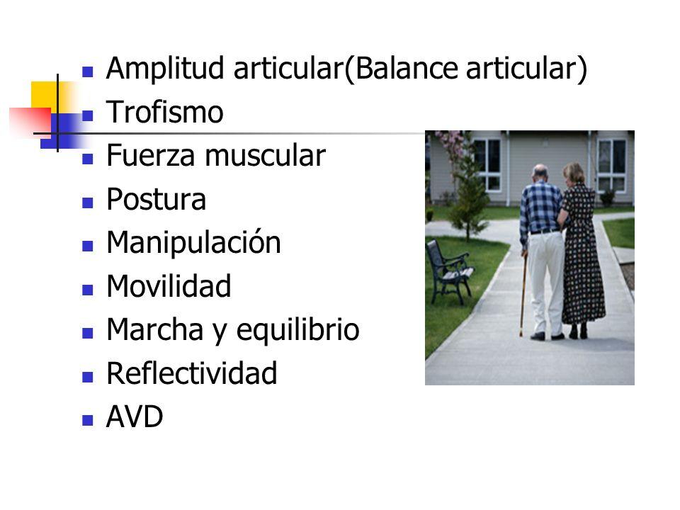 Amplitud articular(Balance articular)