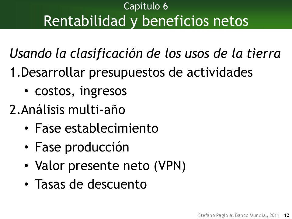 Capitulo 6 Rentabilidad y beneficios netos