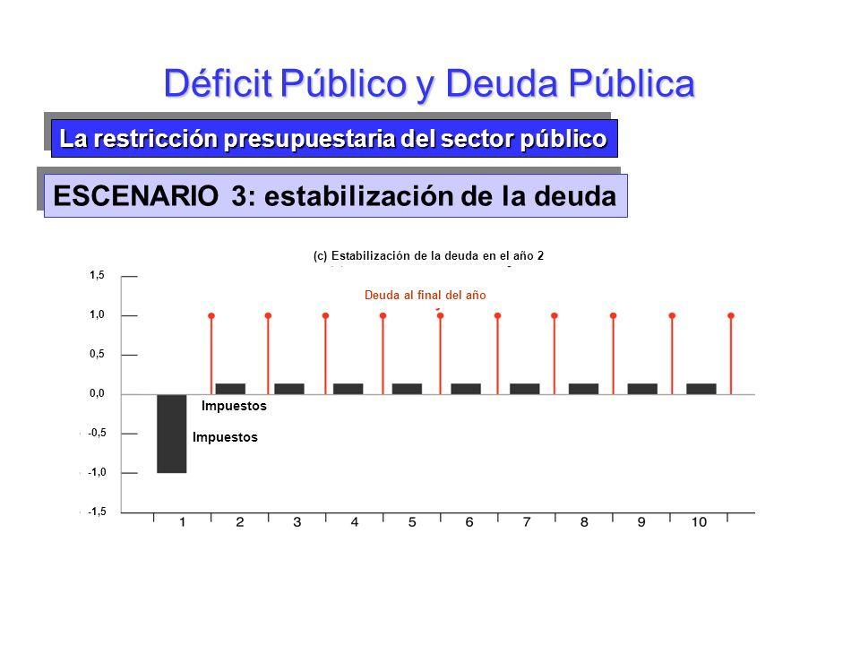 Déficit Público y Deuda Pública
