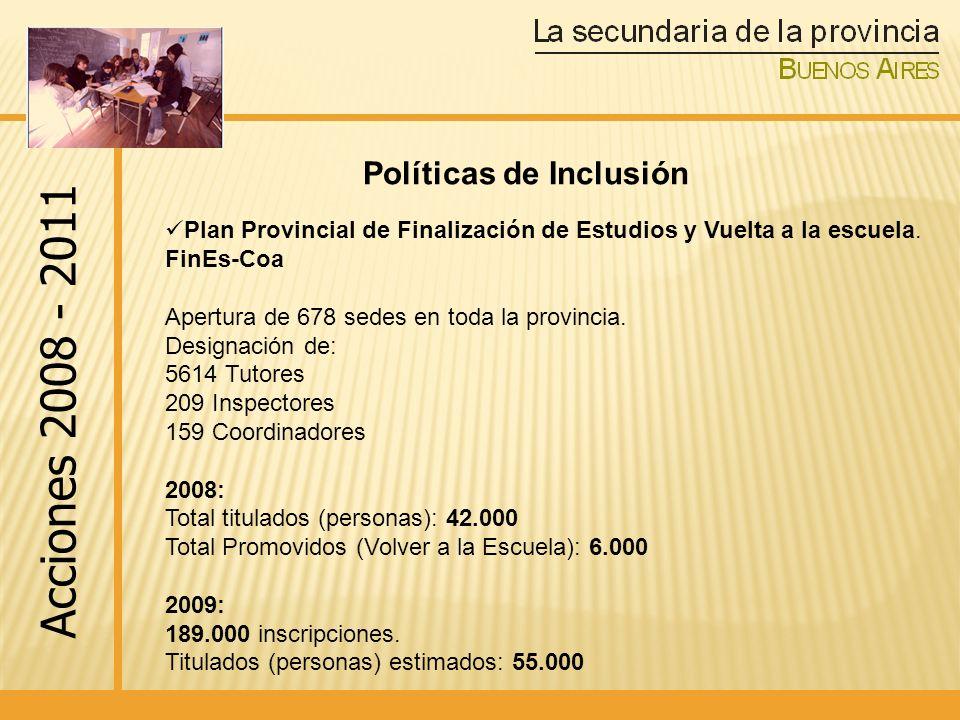 Políticas de Inclusión
