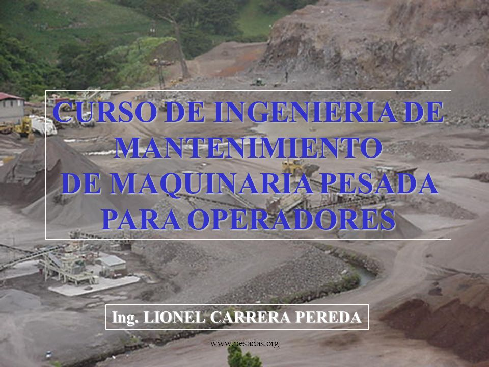 Ing. LIONEL CARRERA PEREDA