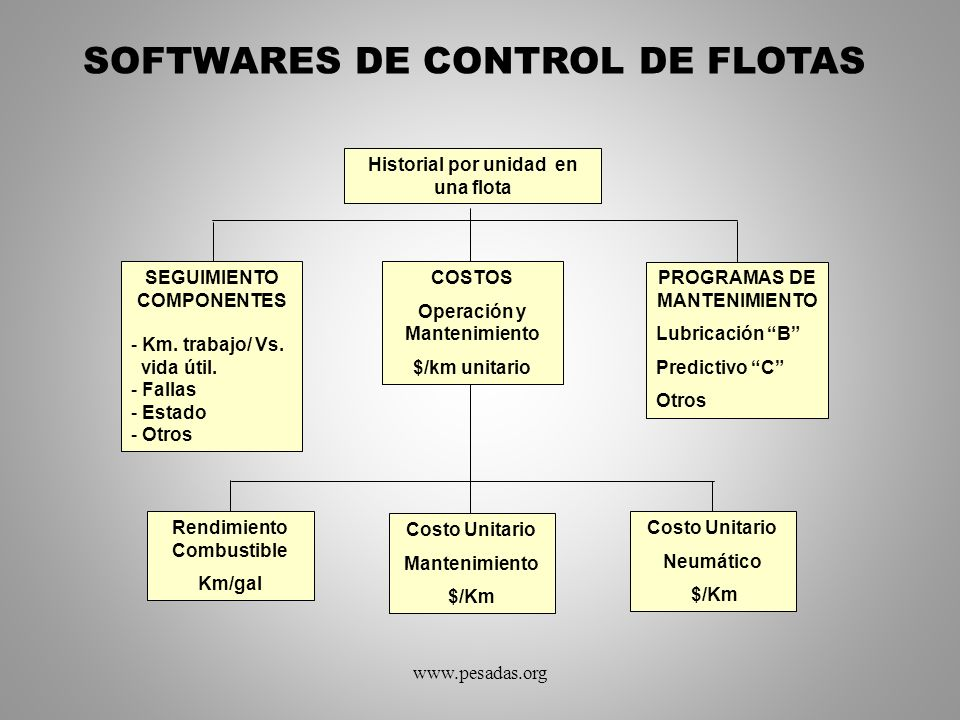 SOFTWARES DE CONTROL DE FLOTAS