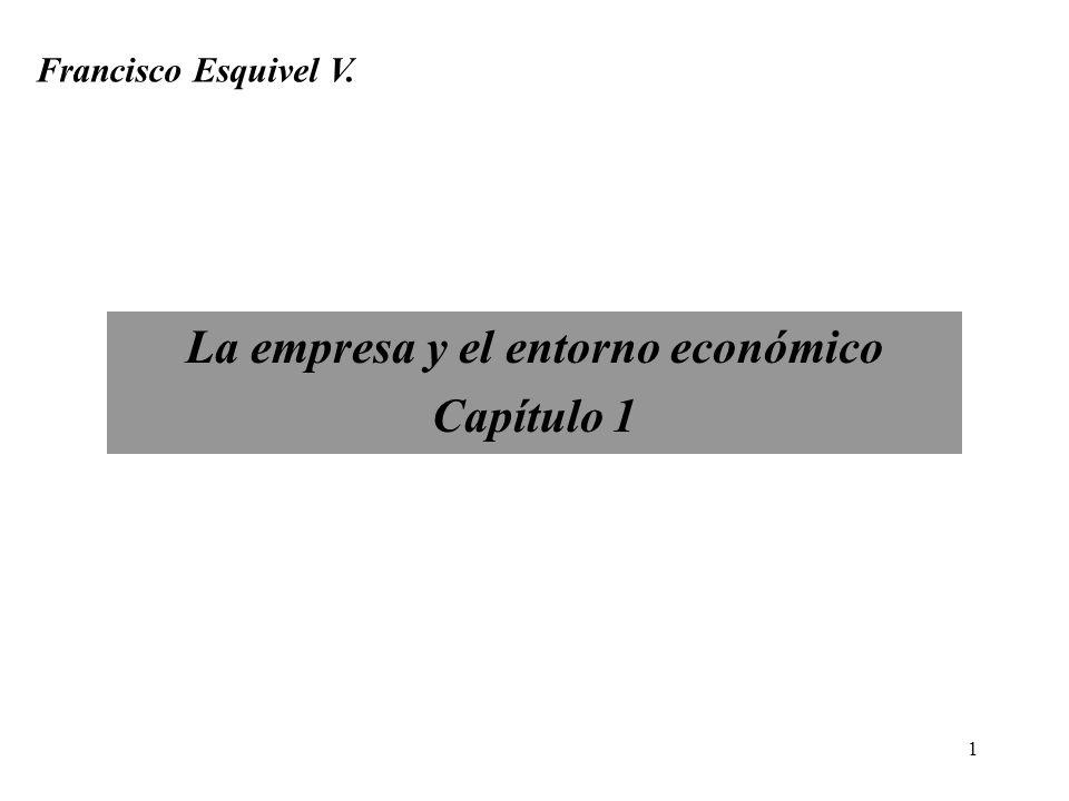 La empresa y el entorno económico