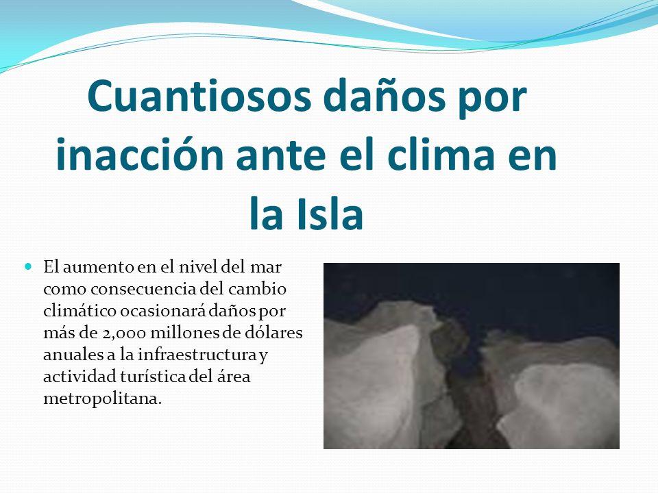 Cuantiosos daños por inacción ante el clima en la Isla