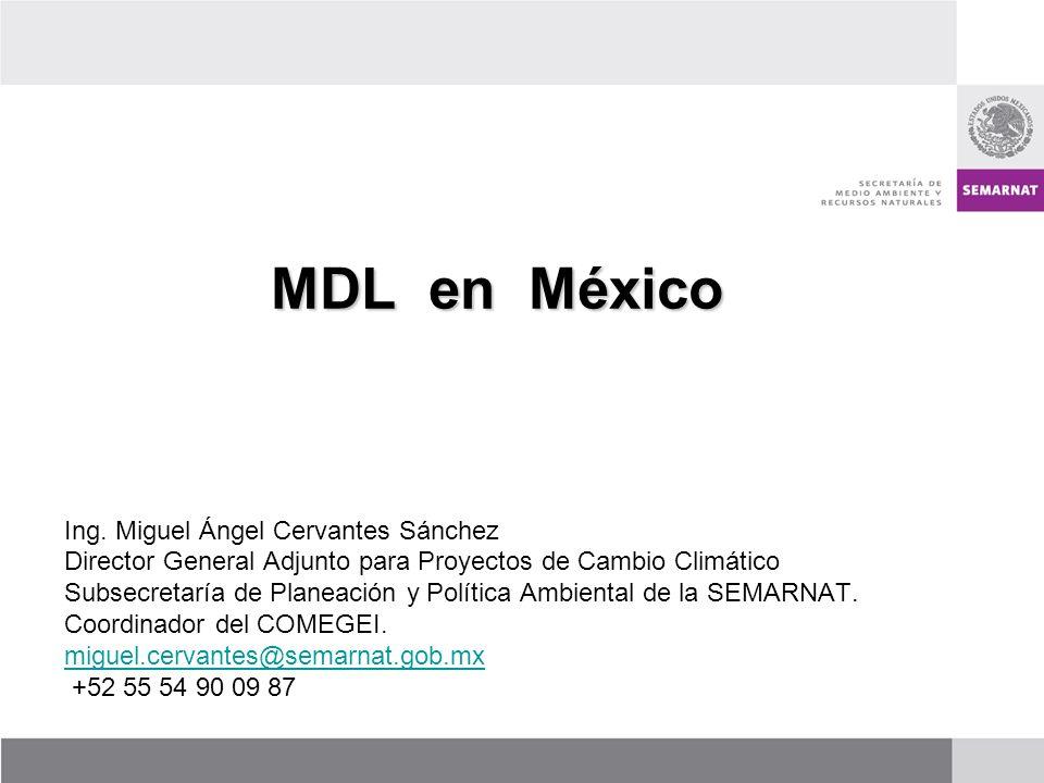 MDL en México Ing. Miguel Ángel Cervantes Sánchez