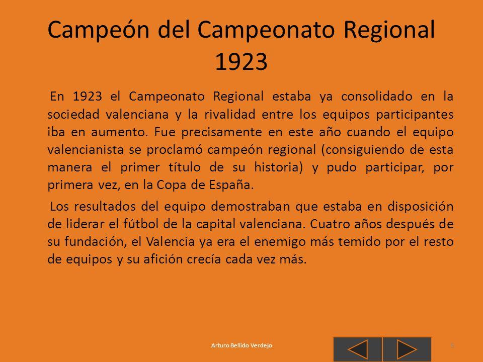 Campeón del Campeonato Regional 1923