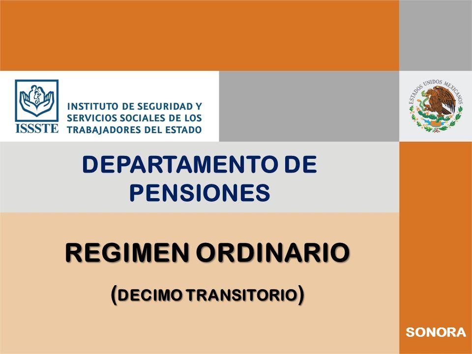 DEPARTAMENTO DE PENSIONES