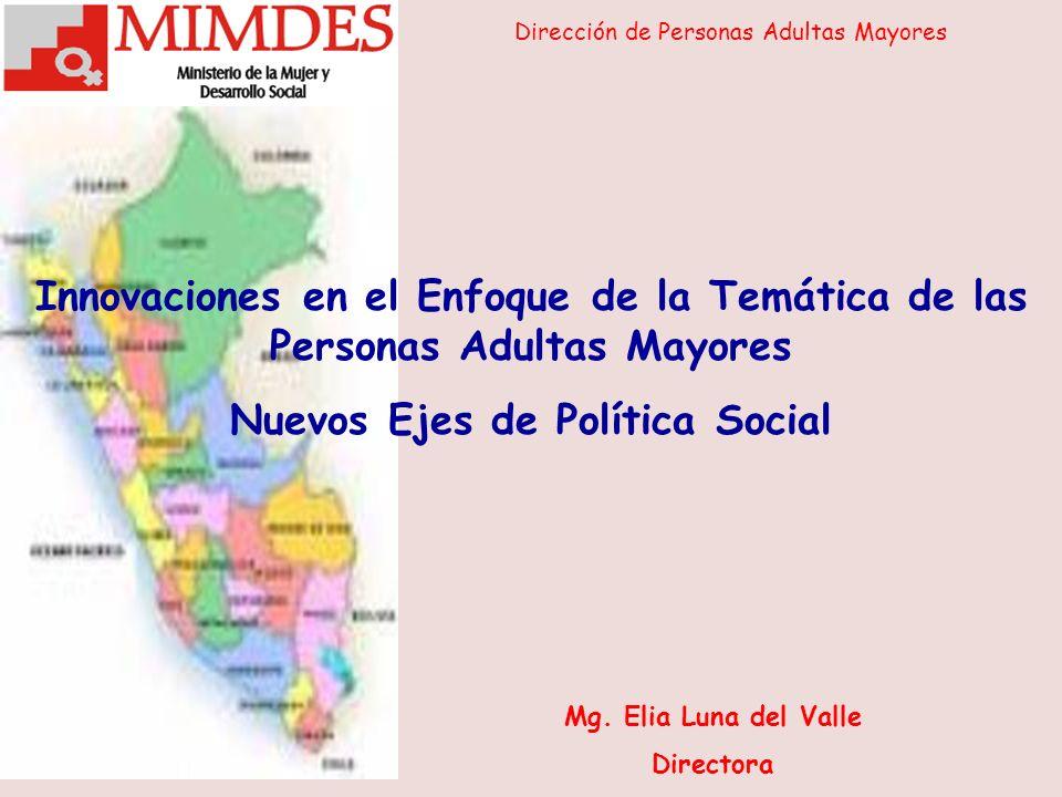 Nuevos Ejes de Política Social