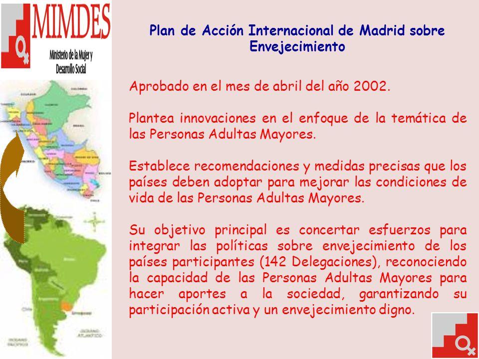Plan de Acción Internacional de Madrid sobre Envejecimiento