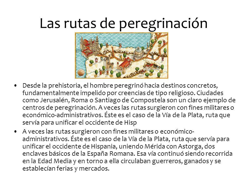 Las rutas de peregrinación