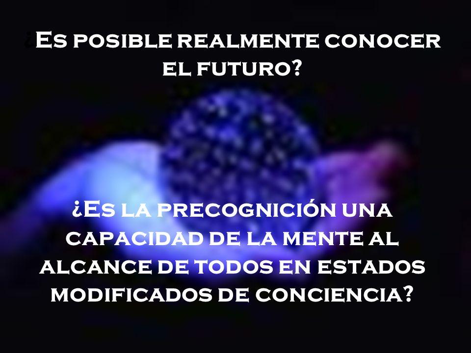 ¿Es posible realmente conocer el futuro