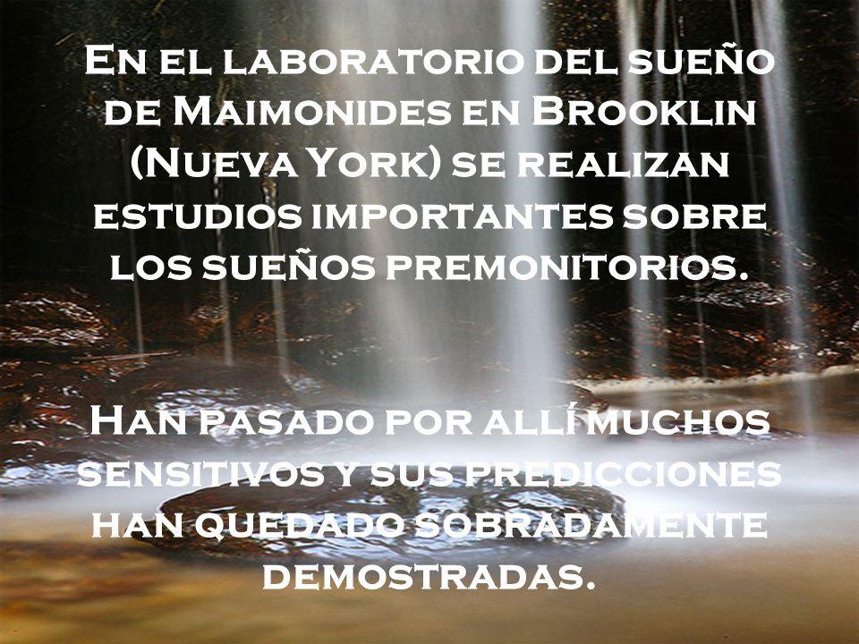 En el laboratorio del sueño de Maimonides en Brooklin (Nueva York) se realizan estudios importantes sobre los sueños premonitorios.