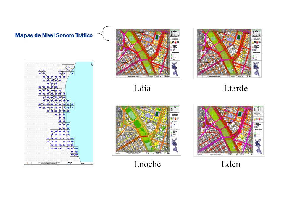 Mapas de Nivel Sonoro Tráfico