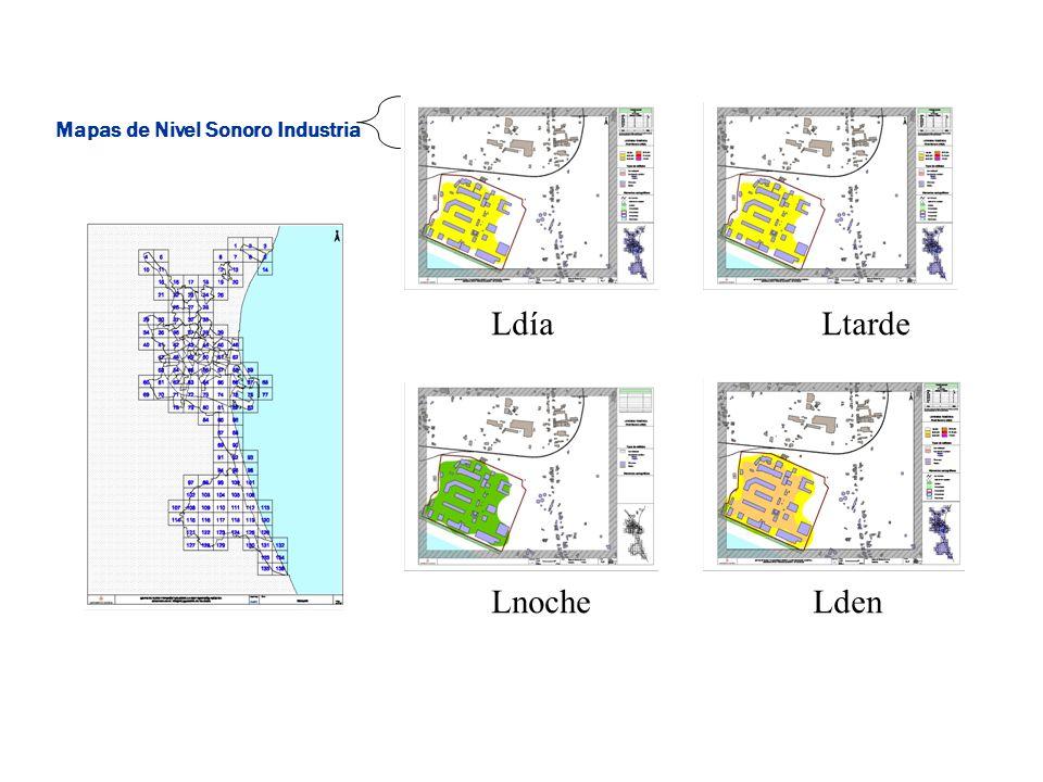 Mapas de Nivel Sonoro Industria