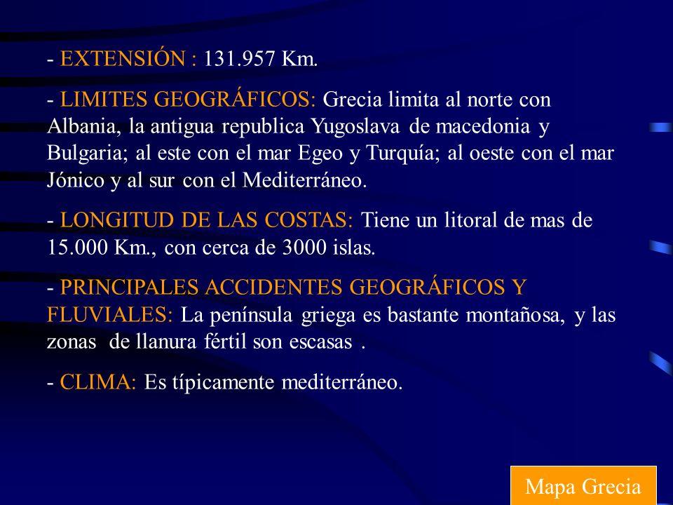 - EXTENSIÓN : 131.957 Km.