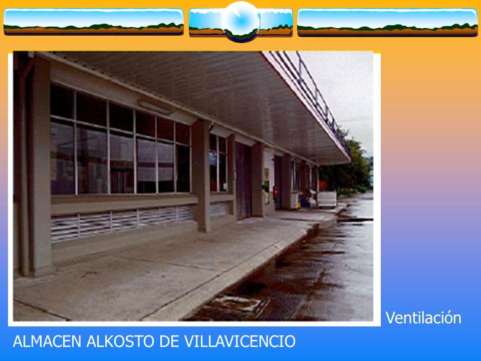 Ventilación ALMACEN ALKOSTO DE VILLAVICENCIO
