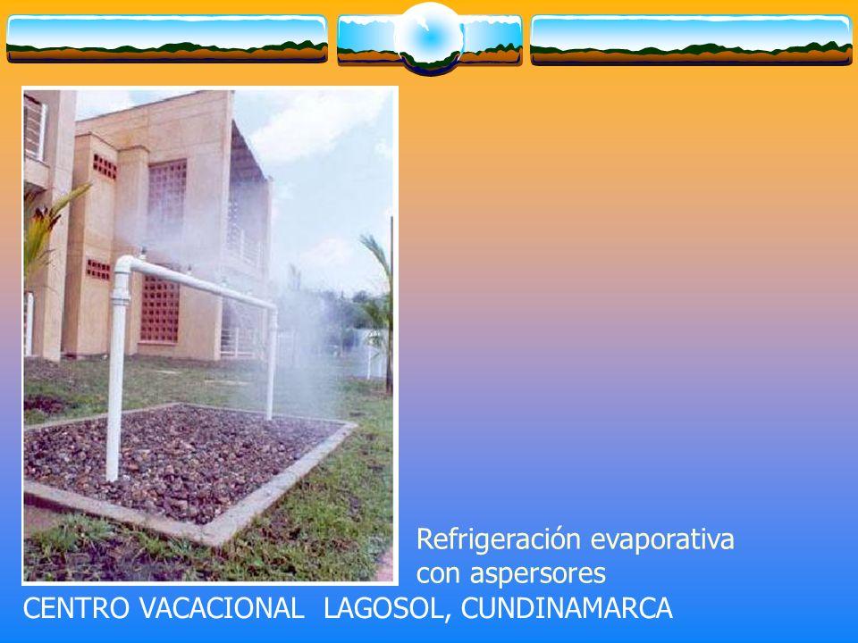 Refrigeración evaporativa