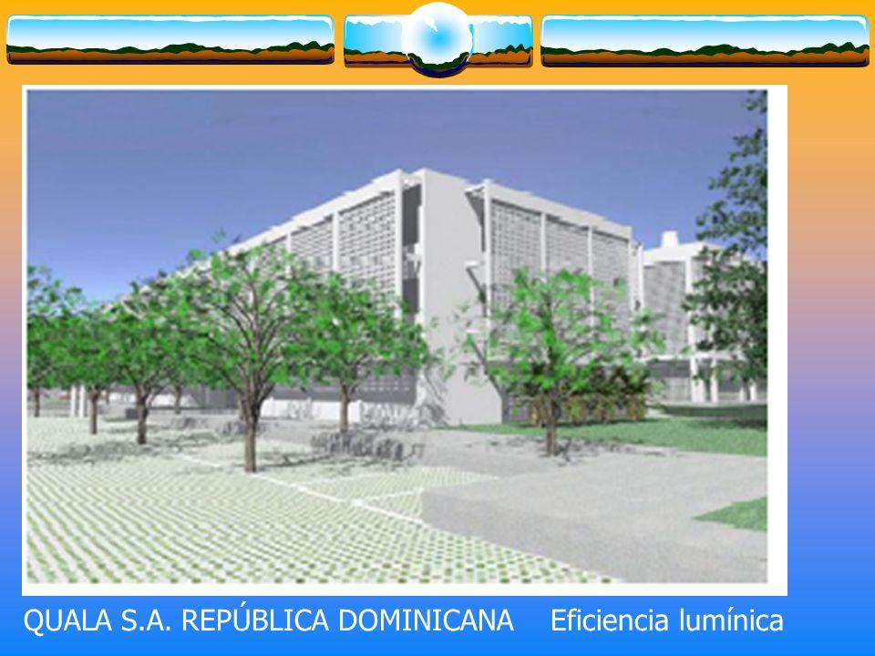 QUALA S.A. REPÚBLICA DOMINICANA Eficiencia lumínica