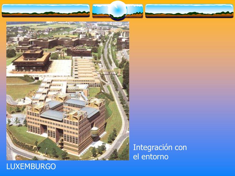 Integración con el entorno LUXEMBURGO