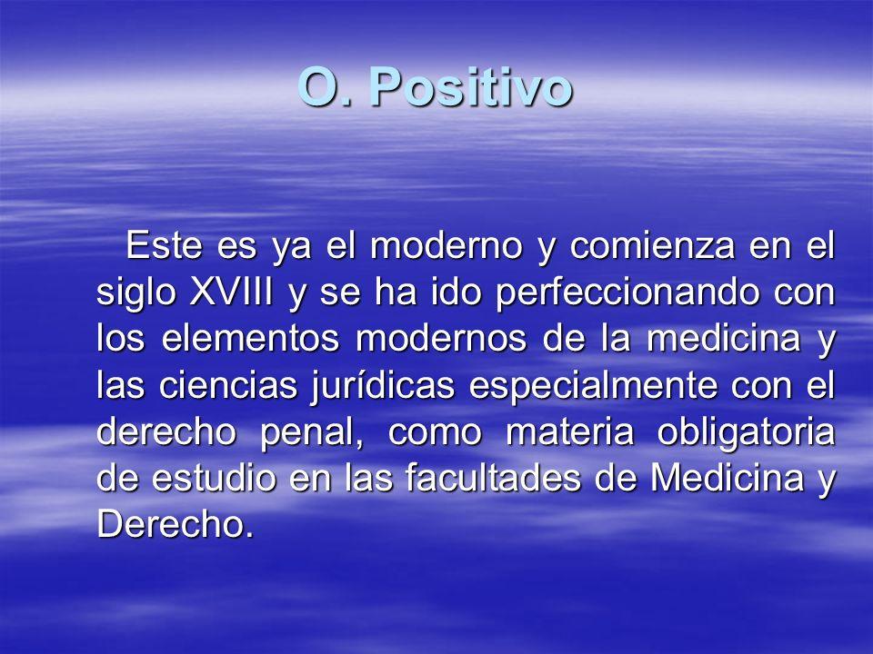 O. Positivo