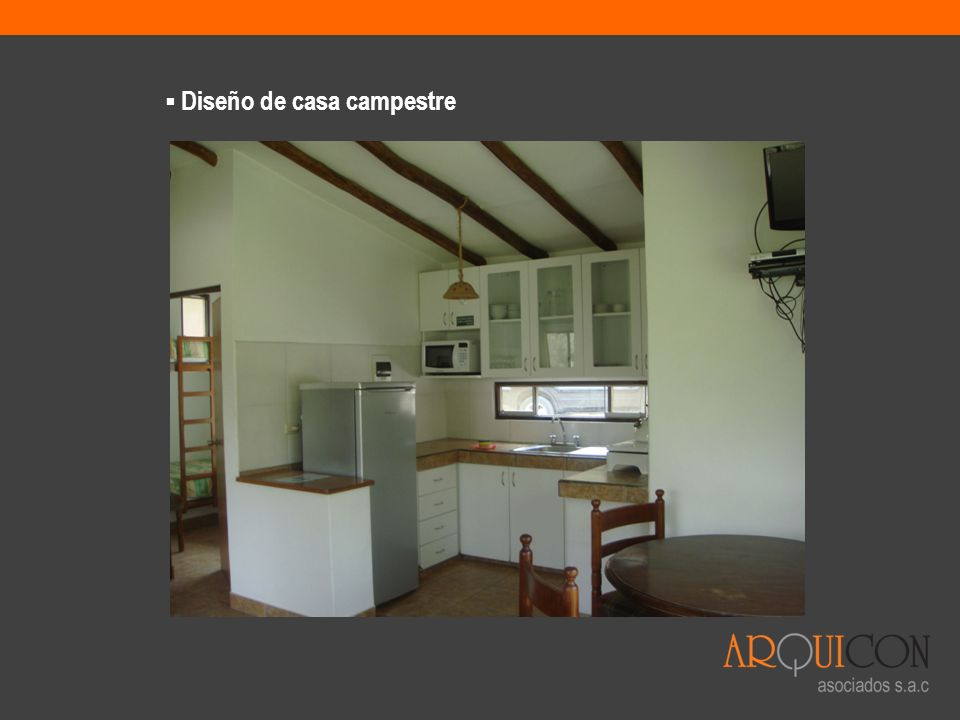 Diseño de casa campestre