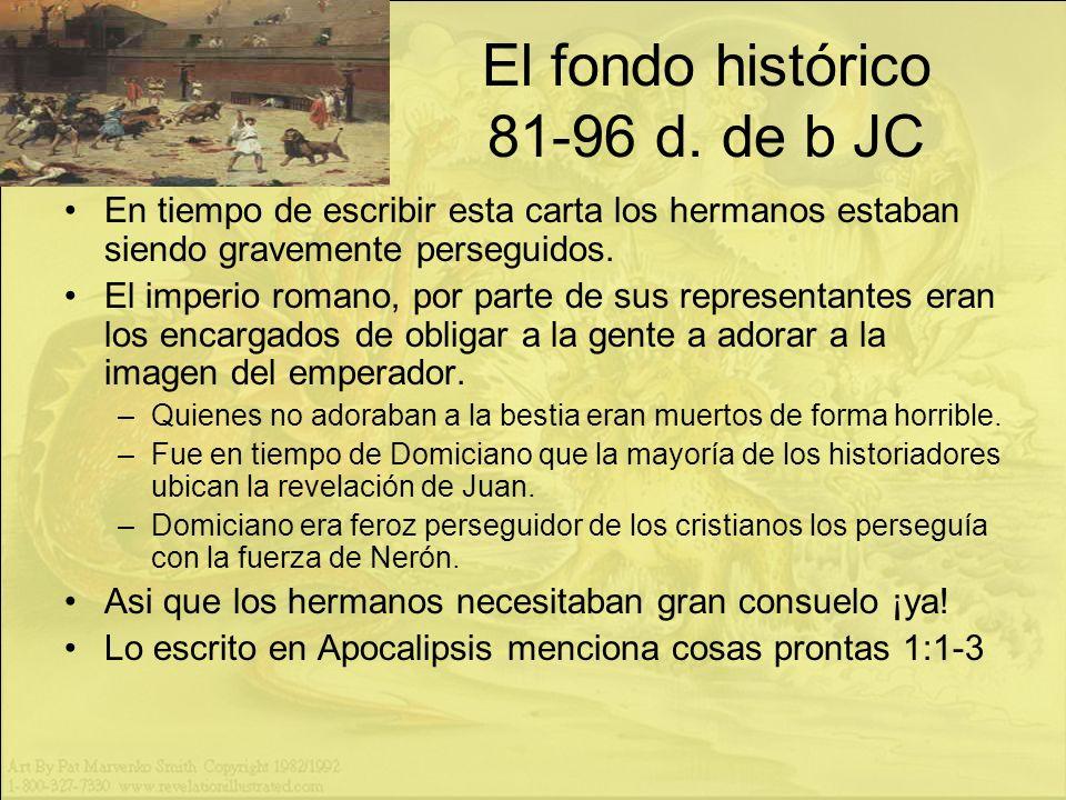 El fondo histórico 81-96 d. de b JC