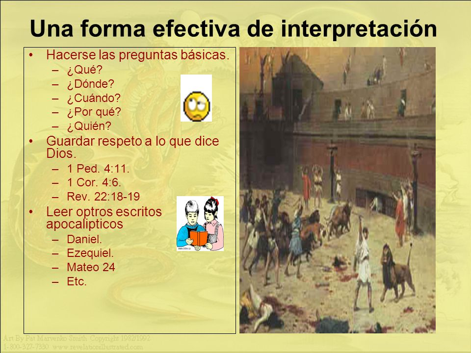 Una forma efectiva de interpretación
