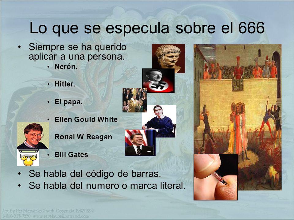 Lo que se especula sobre el 666