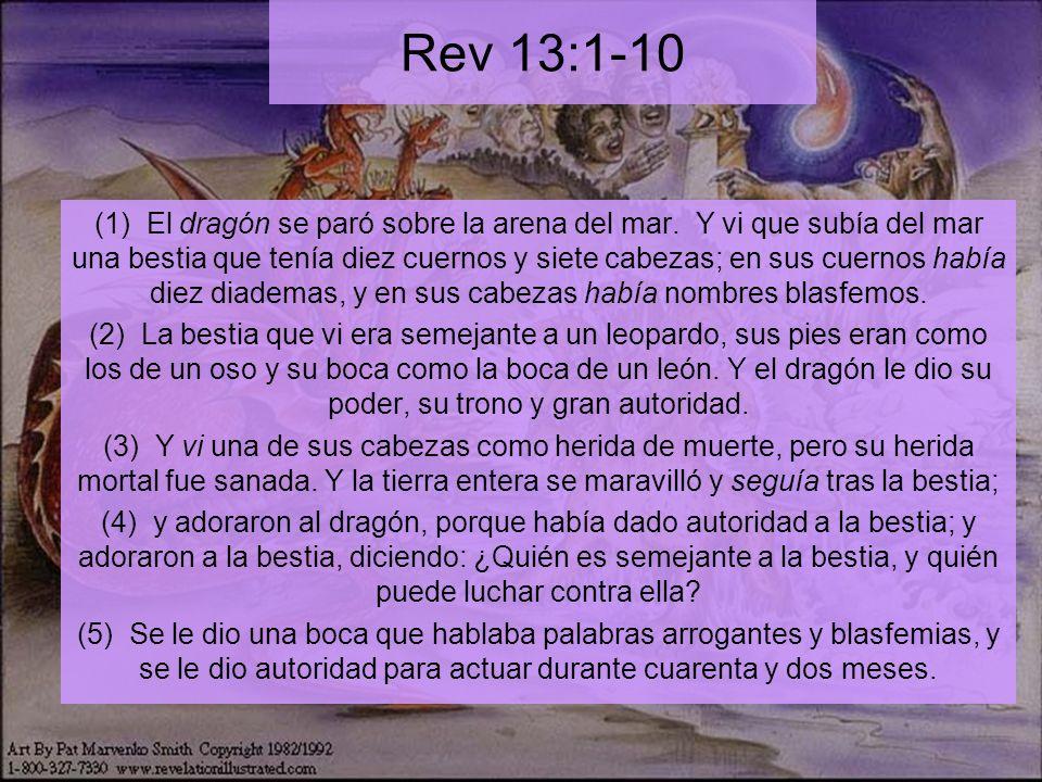 Rev 13:1-10