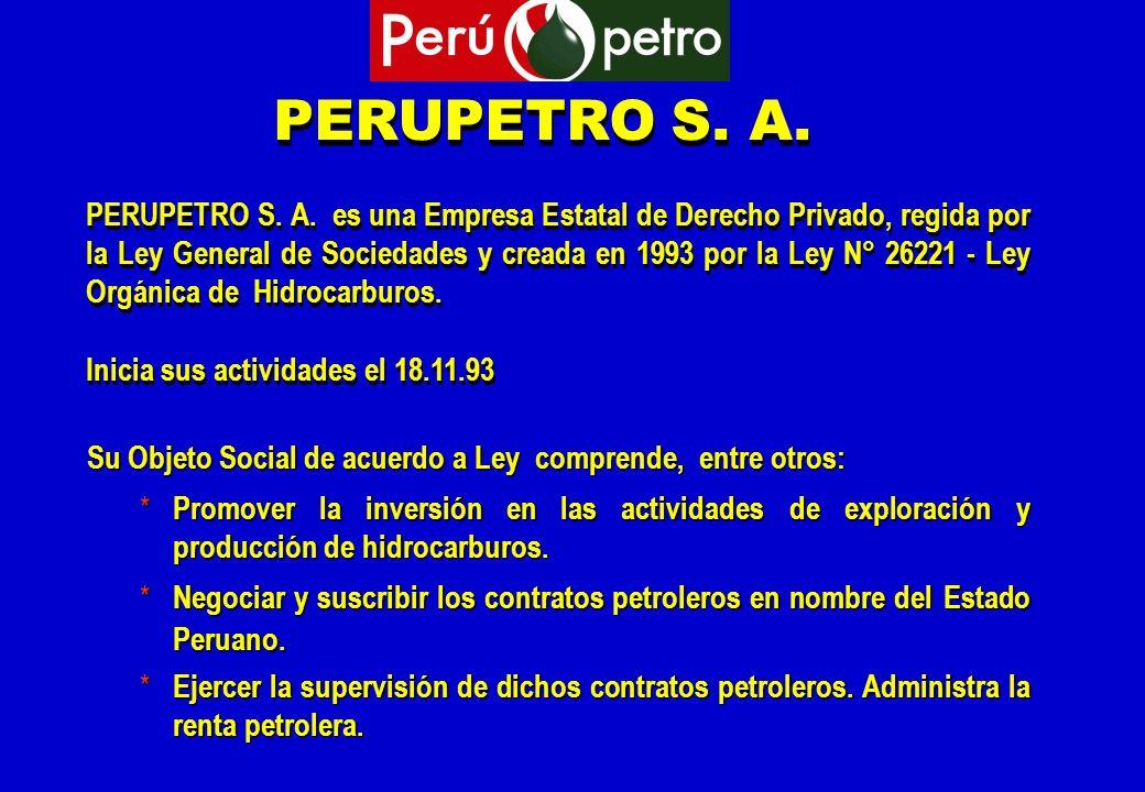 PERUPETRO S. A.