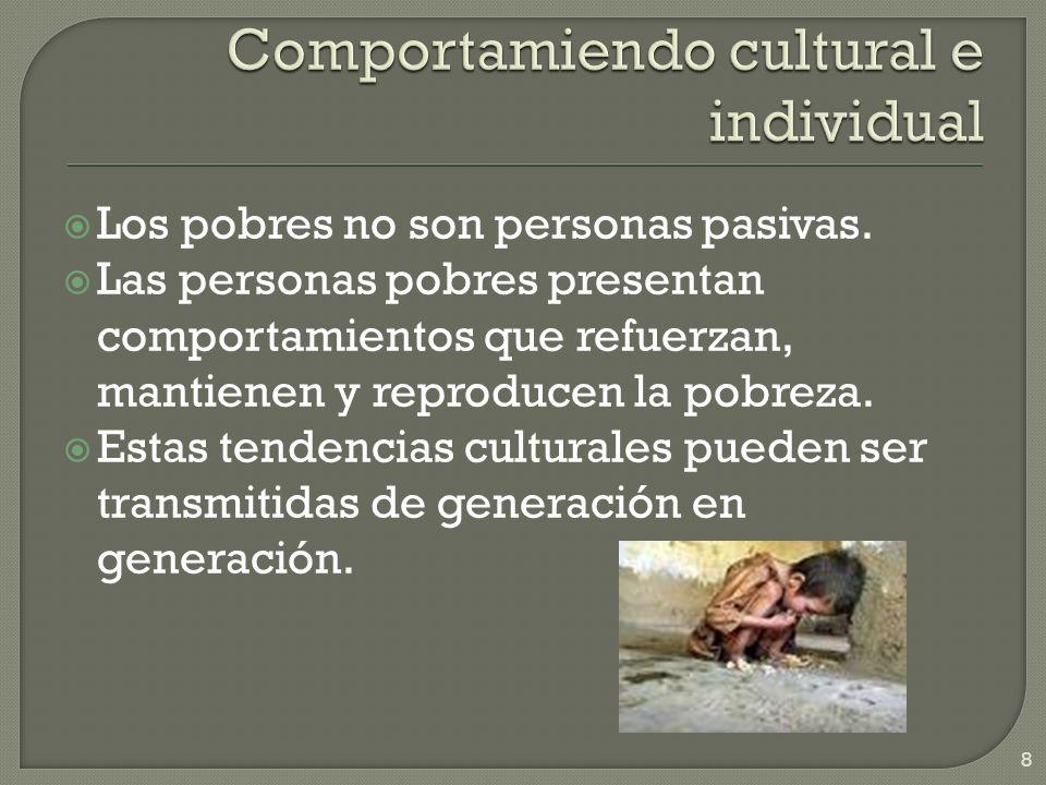 Comportamiendo cultural e individual