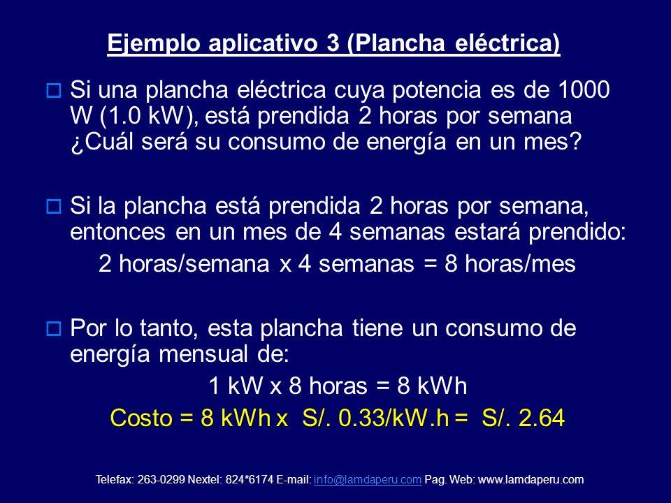 Ejemplo aplicativo 3 (Plancha eléctrica)