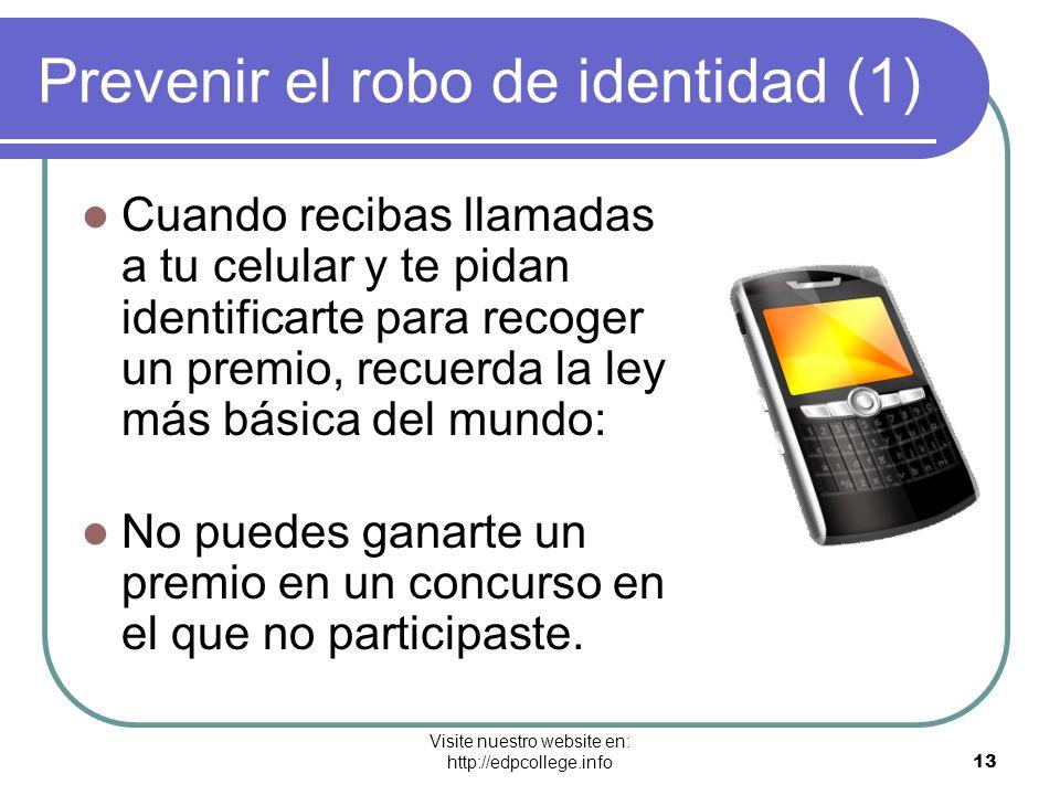 Prevenir el robo de identidad (1)