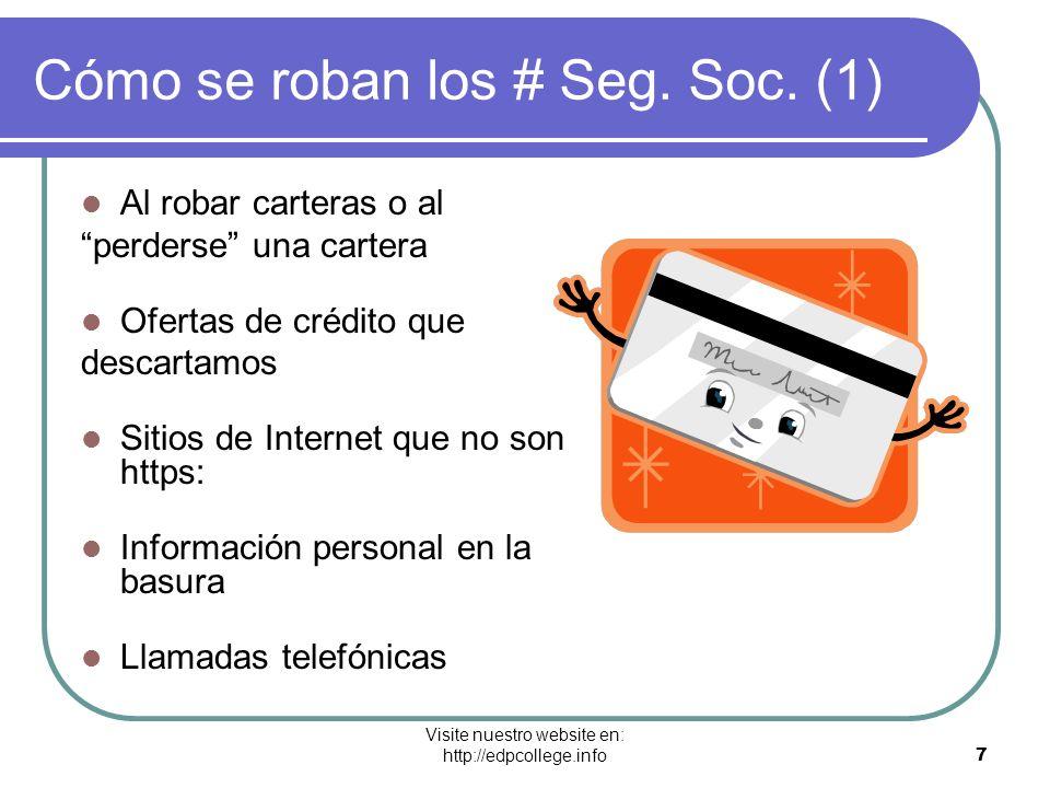 Cómo se roban los # Seg. Soc. (1)