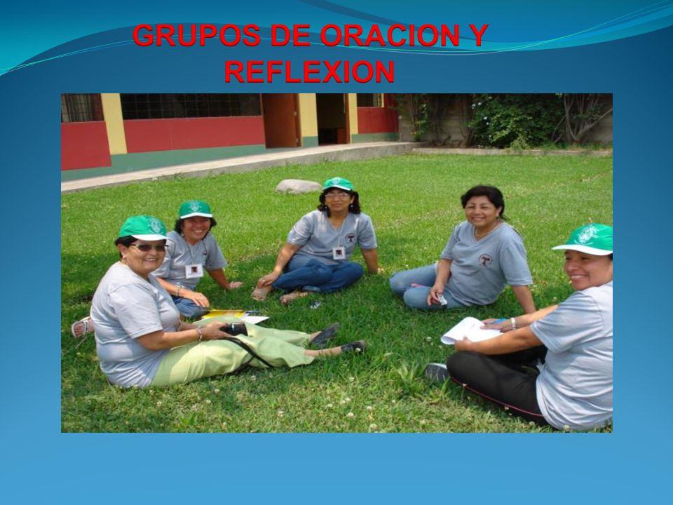 GRUPOS DE ORACION Y REFLEXION