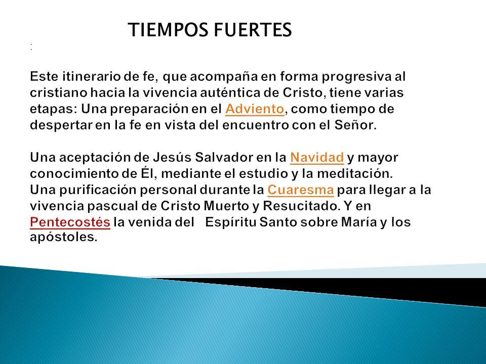 TIEMPOS FUERTES