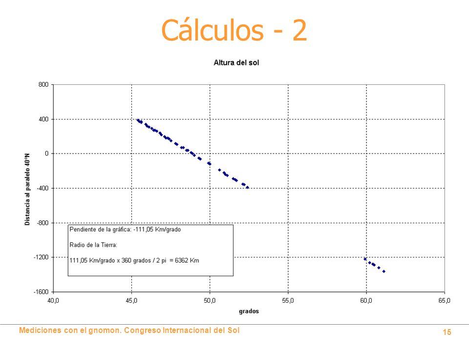 Cálculos - 2
