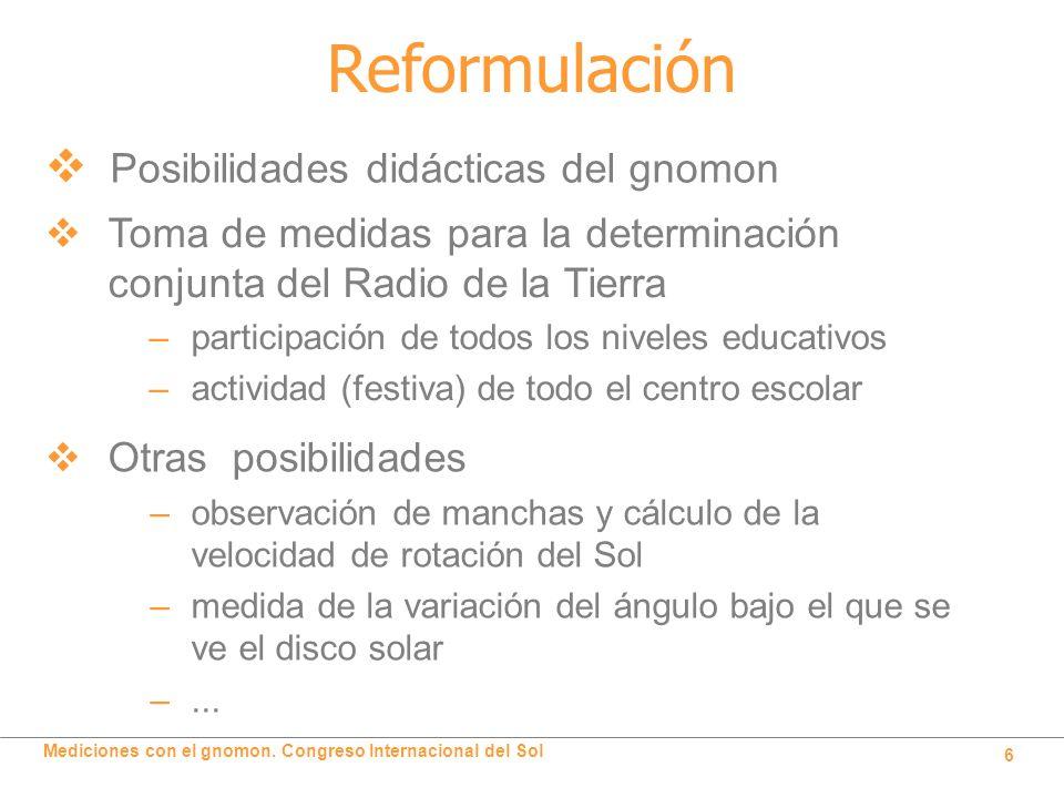 Reformulación Posibilidades didácticas del gnomon