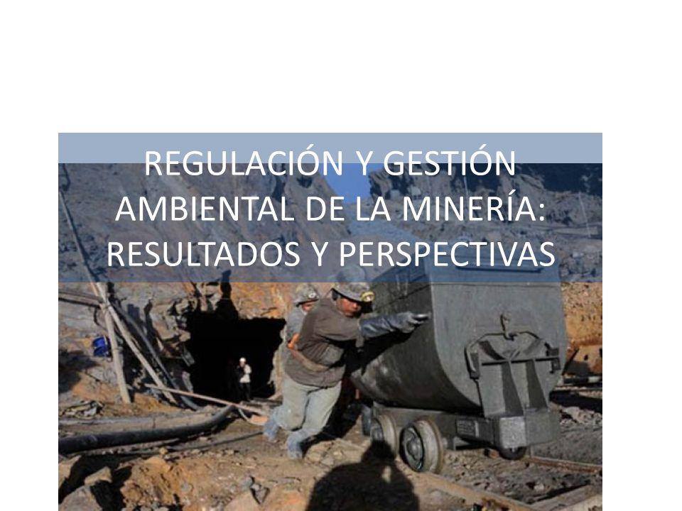 REGULACIÓN Y GESTIÓN AMBIENTAL DE LA MINERÍA: RESULTADOS Y PERSPECTIVAS