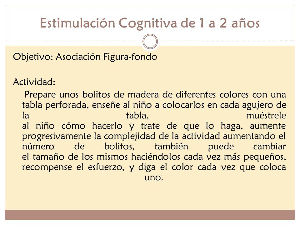 Estimulación Cognitiva de 1 a 2 años