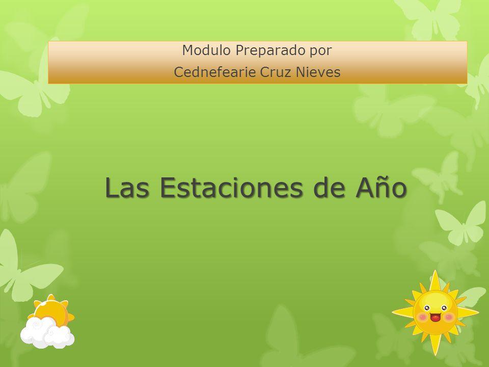 Modulo Preparado por Cednefearie Cruz Nieves