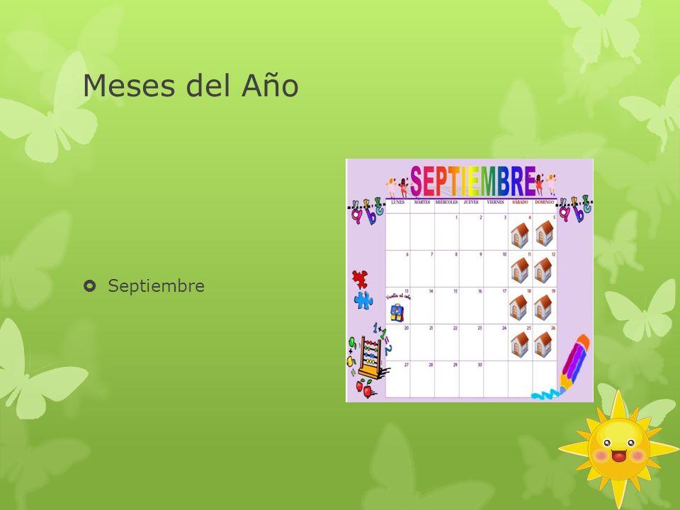 Meses del Año Septiembre