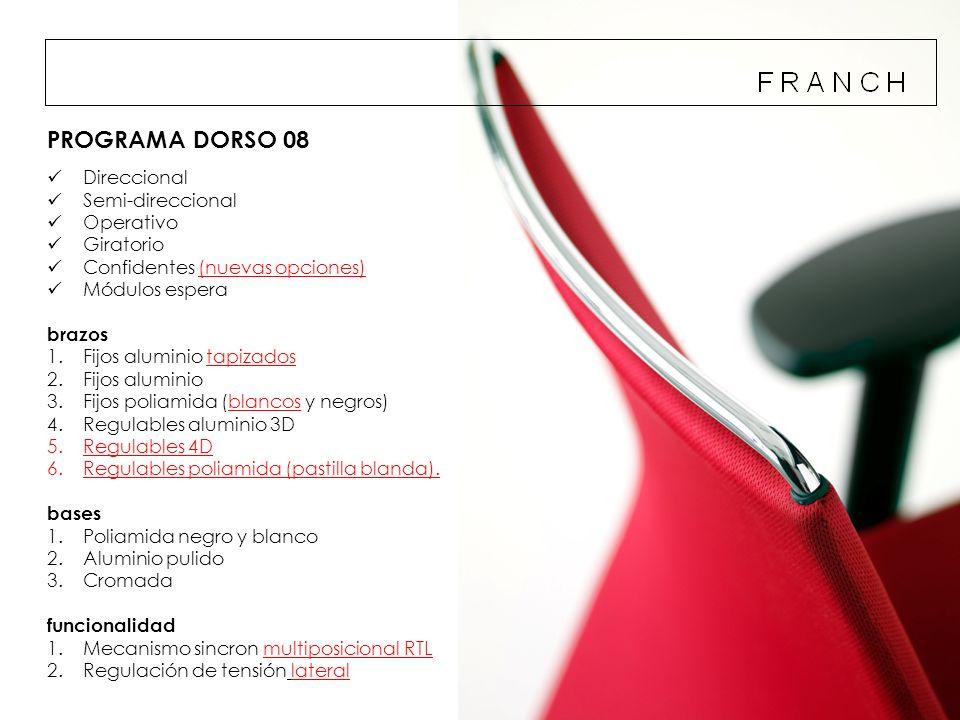 PROGRAMA DORSO 08 Direccional Semi-direccional Operativo Giratorio